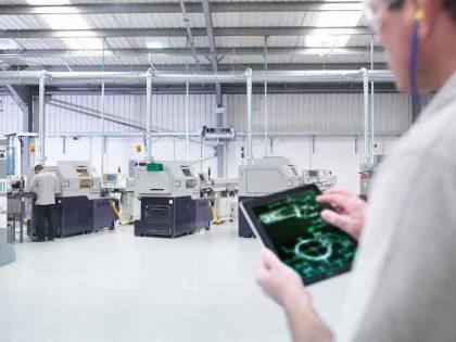 Internet industrial aumenta a produtividade das empresas